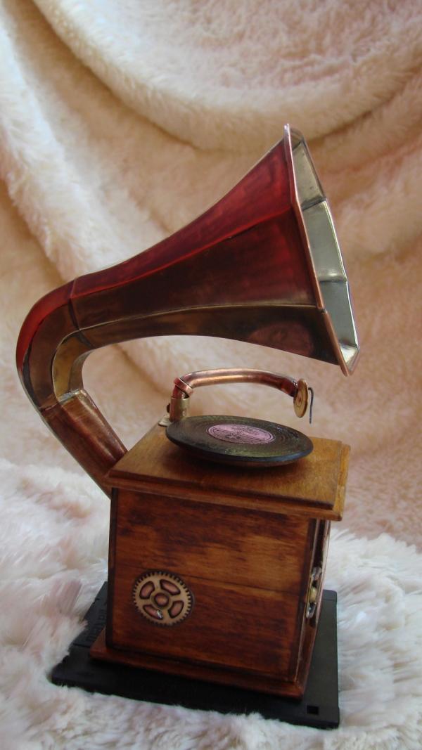 Граммофончик+MP3 Плеер (Фото 4)