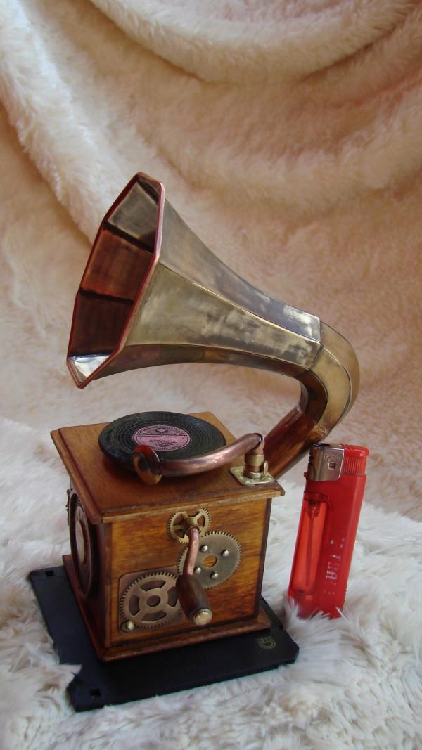 Граммофончик+MP3 Плеер (Фото 6)