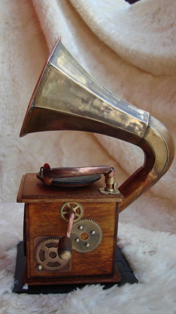 Граммофончик+MP3 Плеер (Фото 2)