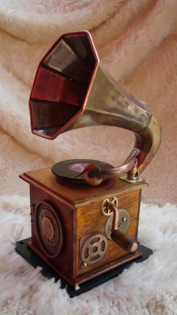 Граммофончик+MP3 Плеер