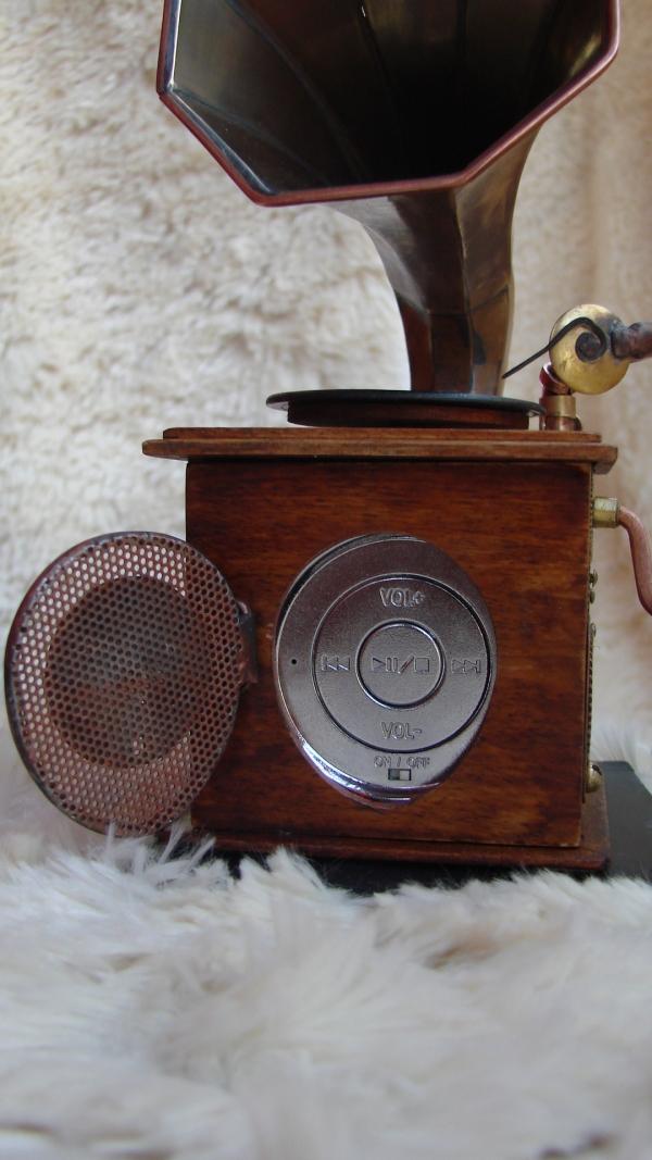 Граммофончик+MP3 Плеер (Фото 8)