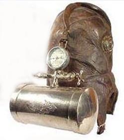 Старинная маска пожарника (Фото 4)