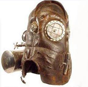 Старинная маска пожарника (Фото 3)