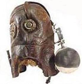 Старинная маска пожарника (Фото 6)