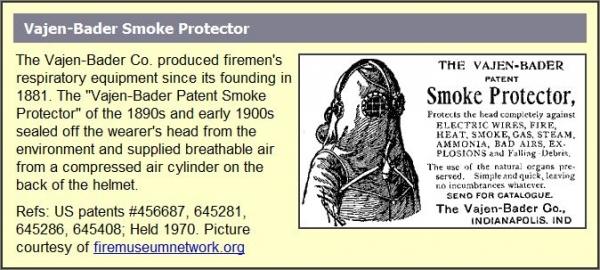 Старинная маска пожарника (Фото 7)