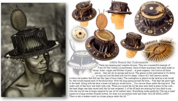Steampunk fashion или стимпанк для девочек ) Шляпы