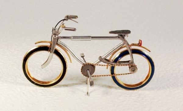 Мотоциклы из деталей часов 4