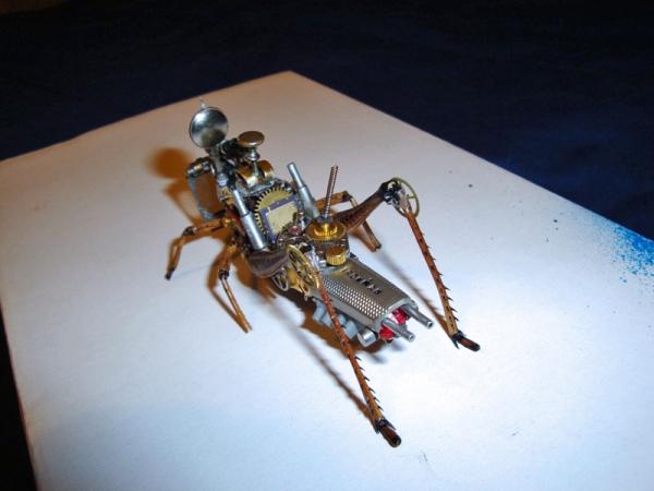 Мои насекомые Steampunk bugs (Фото 6)