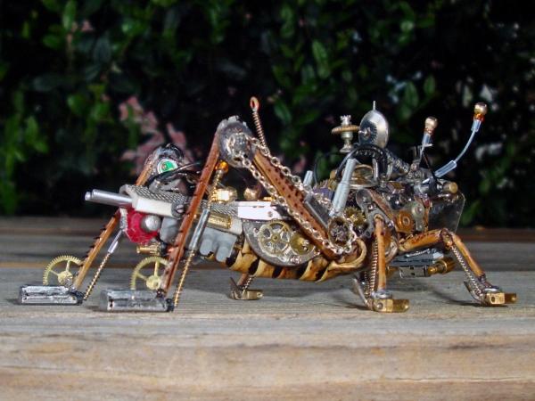 Мои насекомые Steampunk bugs. Финиш.