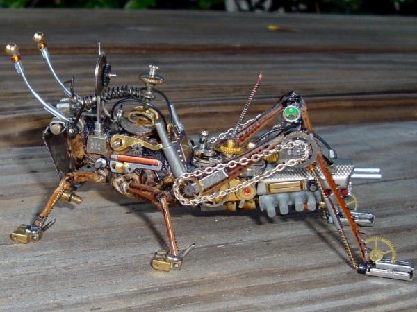 Мои насекомые Steampunk bugs. Финиш. (Фото 10)