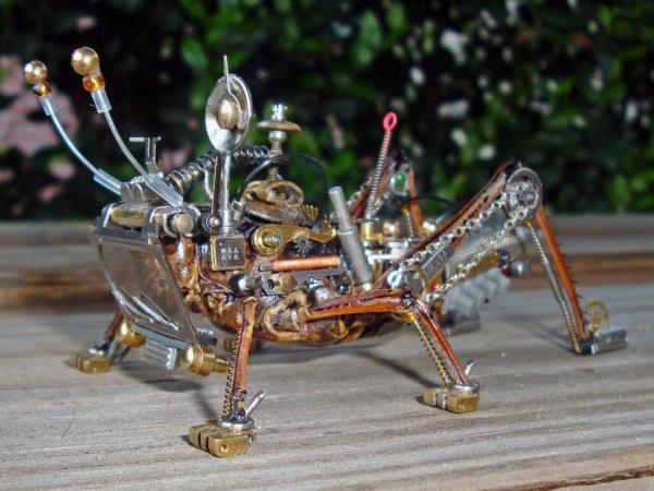 Мои насекомые Steampunk bugs. Финиш. (Фото 3)