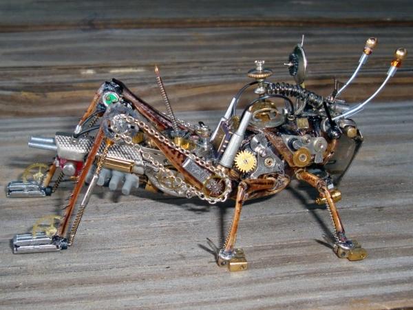 Мои насекомые Steampunk bugs. Финиш. (Фото 7)