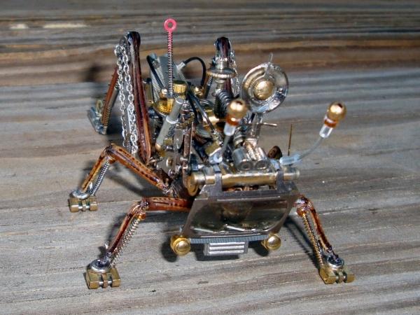 Мои насекомые Steampunk bugs. Финиш. (Фото 5)