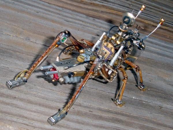 Мои насекомые Steampunk bugs. Финиш. (Фото 8)