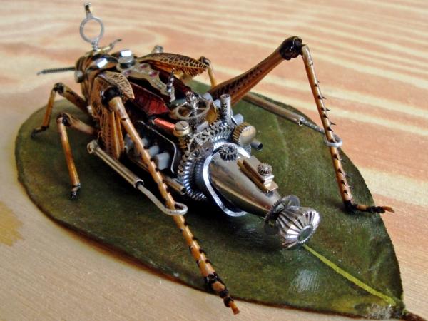Мои насекомые Steampunk bugs. Переделка. (Фото 2)