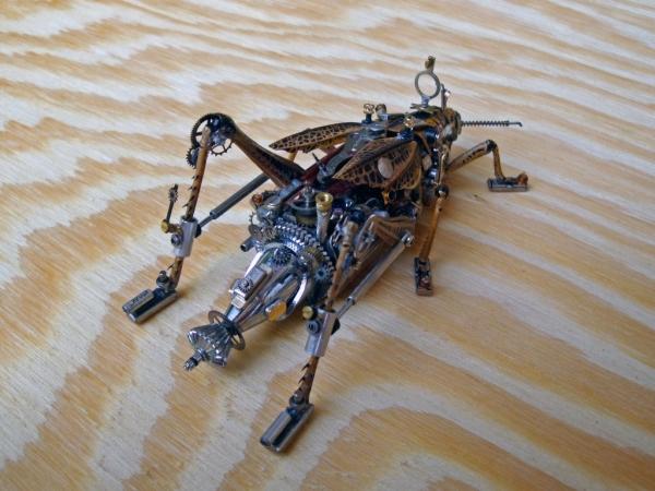 Мои насекомые Steampunk bugs. Переделка. (Фото 5)
