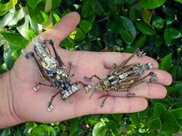 Мои насекомые Steampunk bugs. Переделка.