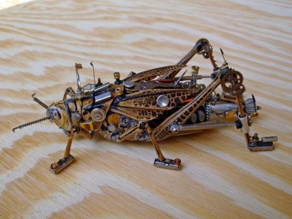 Мои насекомые Steampunk bugs. Переделка. (Фото 7)