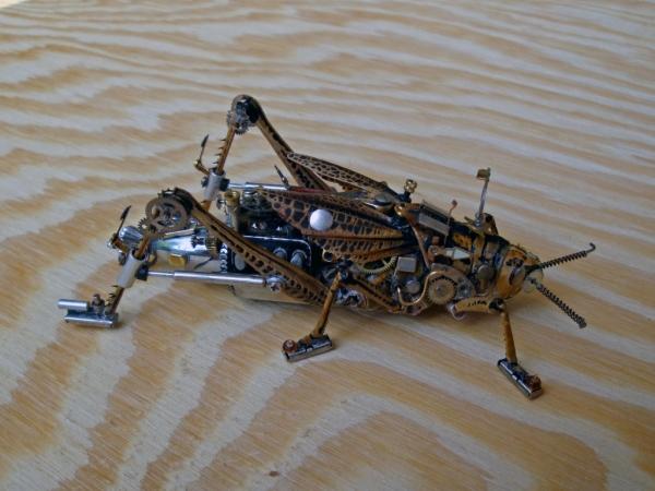 Мои насекомые Steampunk bugs. Переделка. (Фото 4)
