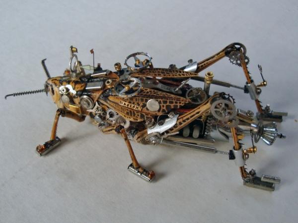 Мои насекомые Steampunk bugs. После ремонта. (Фото 6)