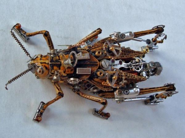 Мои насекомые Steampunk bugs. После ремонта. (Фото 7)