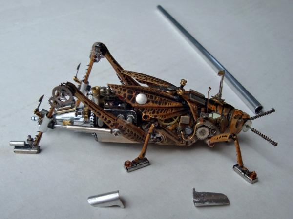 Мои насекомые Steampunk bugs. После ремонта. (Фото 9)