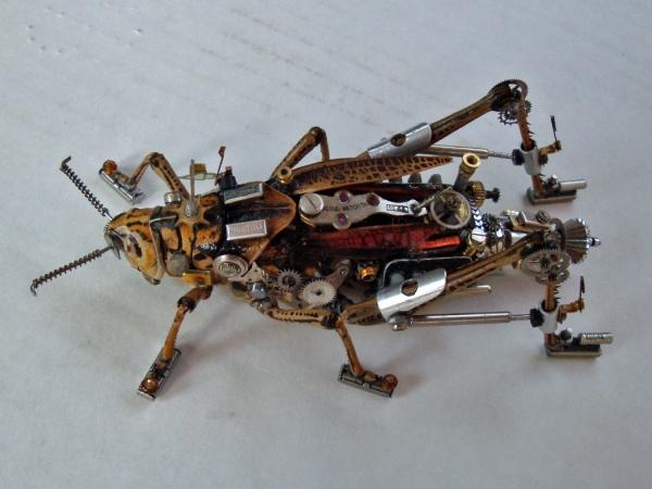 Мои насекомые Steampunk bugs. После ремонта. (Фото 8)