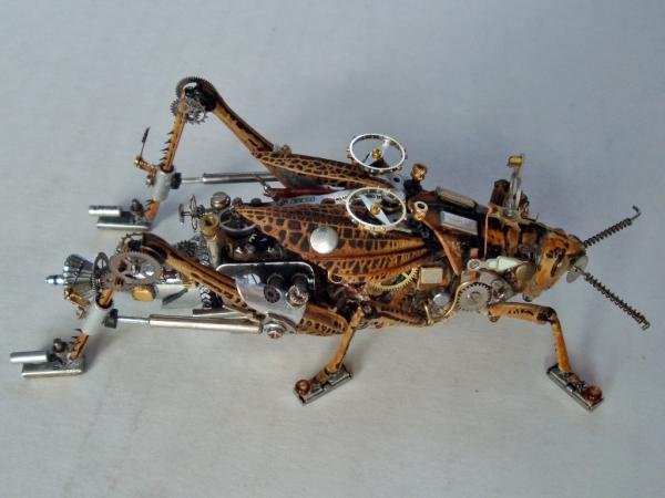 Мои насекомые Steampunk bugs. После ремонта. (Фото 5)