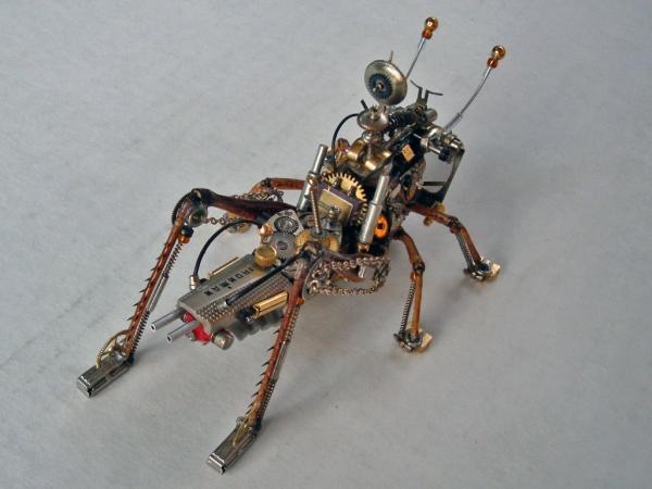 Мои насекомые Steampunk bugs. После ремонта. (Фото 3)