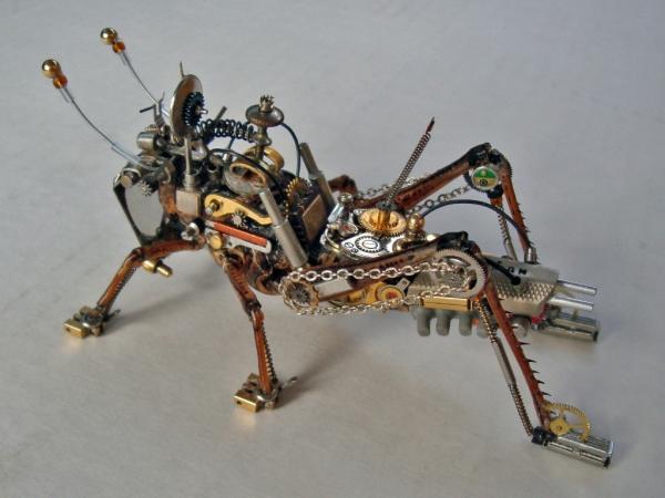 Мои насекомые Steampunk bugs. После ремонта. (Фото 2)