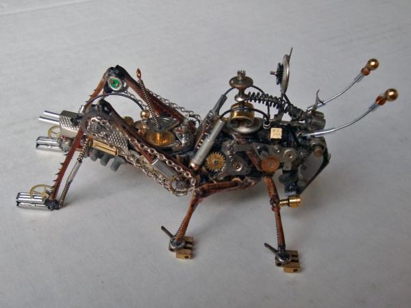 Мои насекомые Steampunk bugs. После ремонта. (Фото 4)