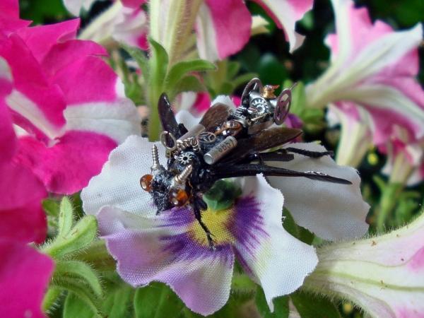 Мои насекомые Steampunk bugs. Доделка Осы. (Фото 3)