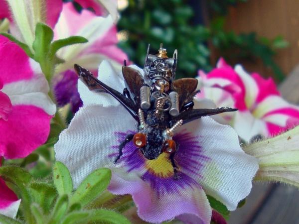Мои насекомые Steampunk bugs. Доделка Осы. (Фото 2)