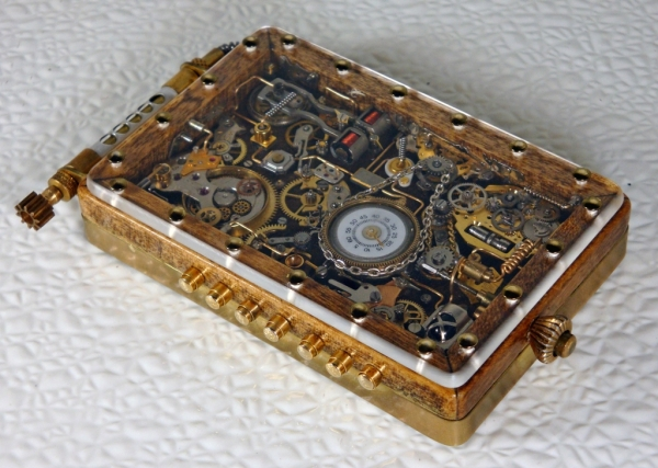 Steampunk или clockpunk Portable Time Machine 2 (Фото 3)