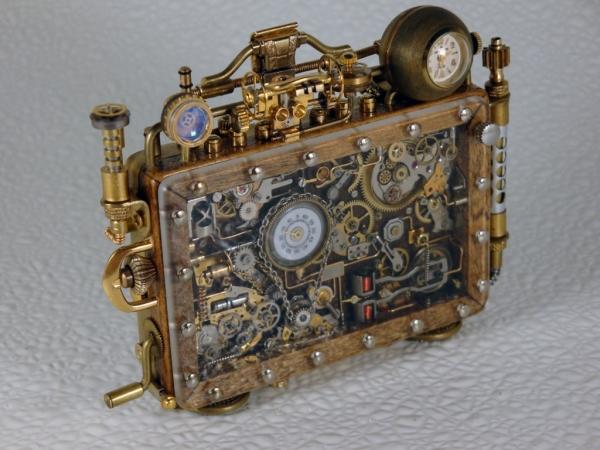 Steampunk или clockpunk Portable Time Machine 3 (Фото 2)