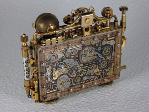 Steampunk или clockpunk Portable Time Machine 3 (Фото 4)
