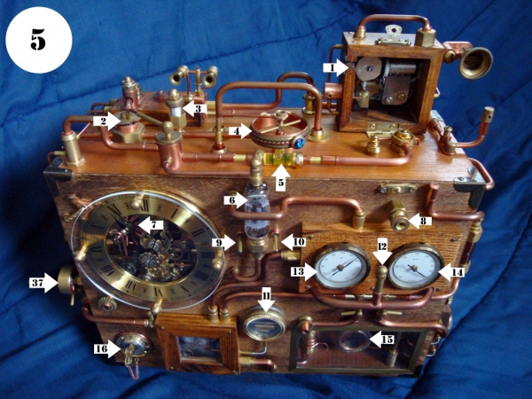 Steampunk Clock. Финиш (Фото 5)