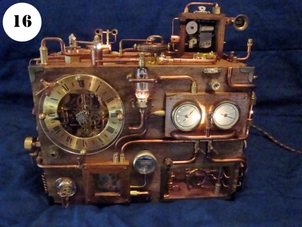 Steampunk Clock. Финиш (Фото 16)