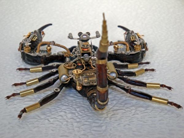 Мои насекомые Steampunk bugs. Скорпион. (Фото 14)