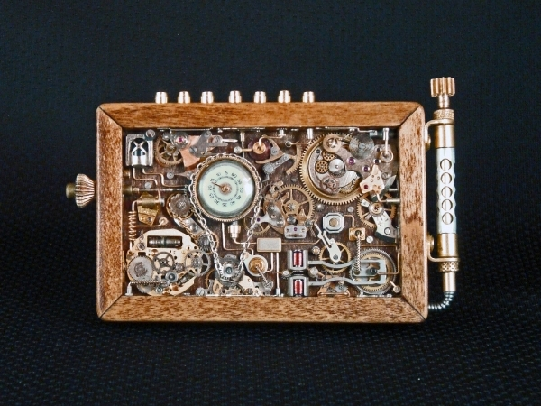 Steampunk или clockpunk Portable Time Machine 1 (Фото 10)