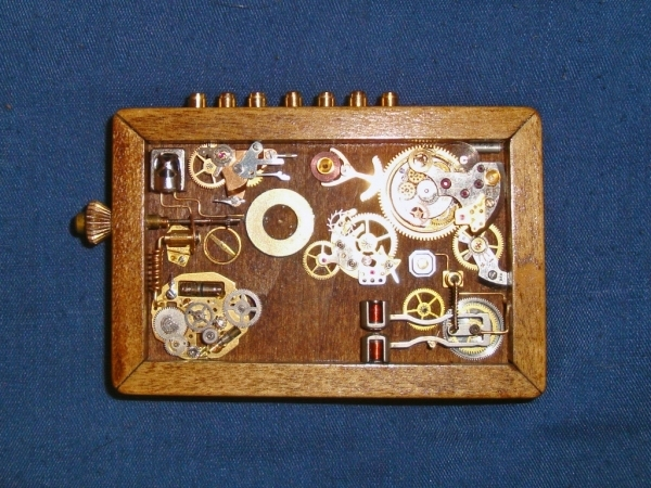 Steampunk или clockpunk Portable Time Machine 1 (Фото 8)