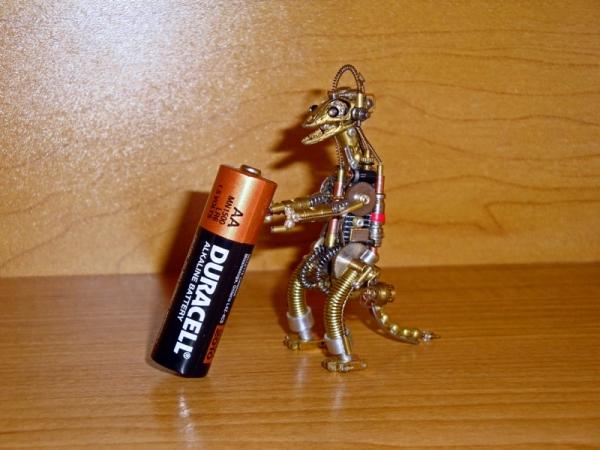 Стимпанк Животные. Стимозавр (Фото 8)