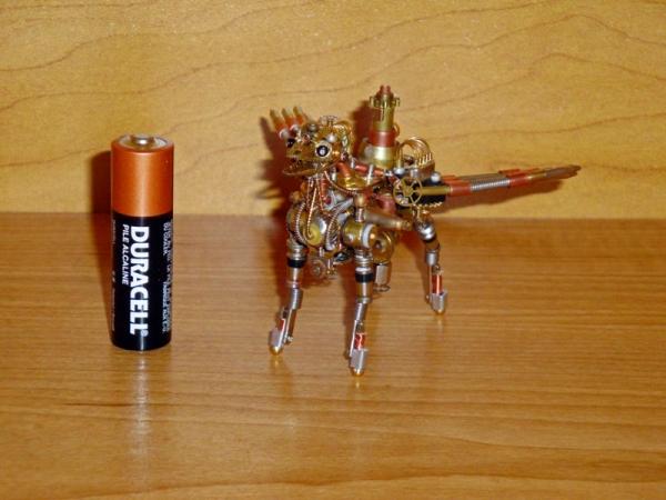 Стимпанк Животные. СтимГрифон (Фото 8)