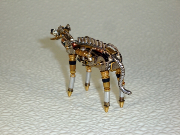 Стимпанк Животные. СтимГиена