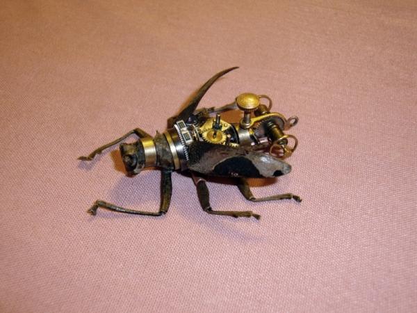 Мои насекомые Steampunk bugs. Жук-Вездеход. (Фото 6)