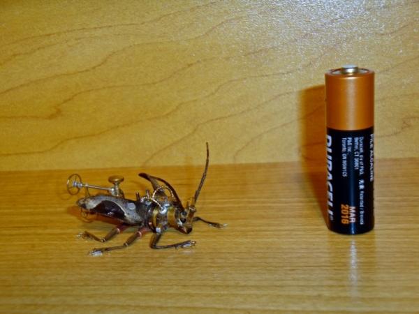 Мои насекомые Steampunk bugs. Жук-Вездеход. (Фото 13)