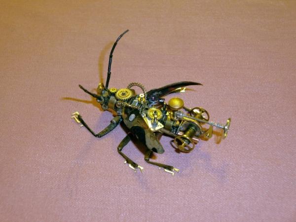 Мои насекомые Steampunk bugs. Жук-Вездеход. (Фото 8)