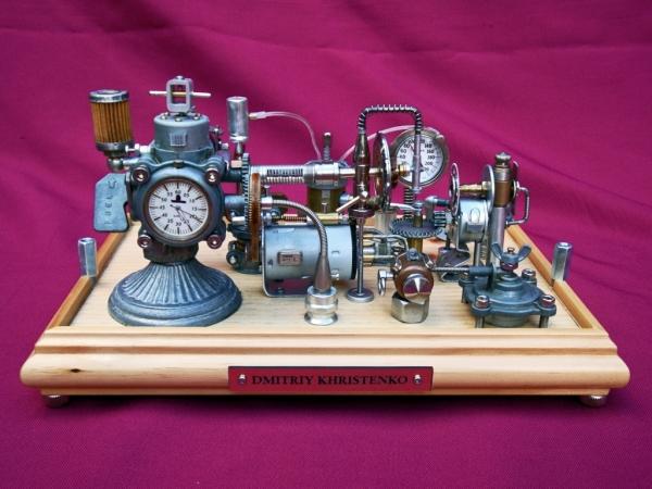 Dieselpunk часы. (Фото 19)