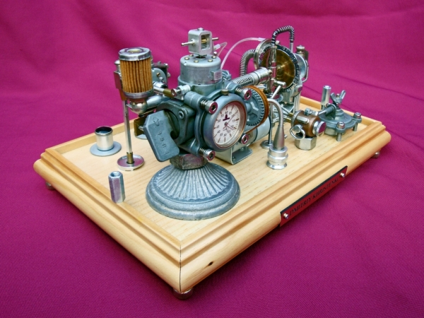 Dieselpunk часы. (Фото 10)