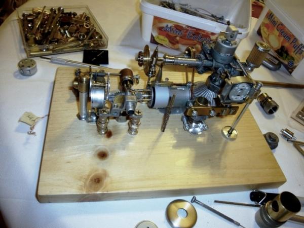 Dieselpunk часы. (Фото 2)